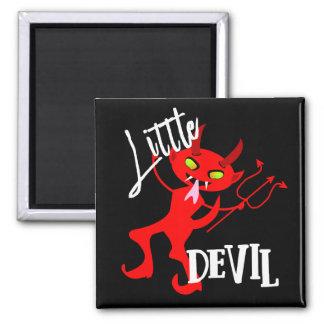 Imã Gráfico engraçado pequeno bonito do diabo vermelho