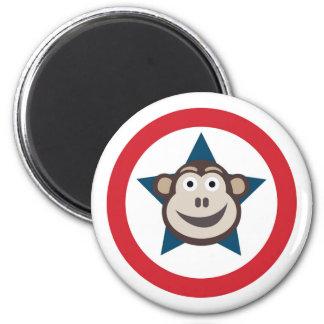 Imã Gráfico super do macaco