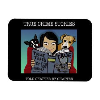 Ímã grande das histórias do crime