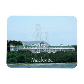 Ímã grande do hotel da ponte de Mackinac