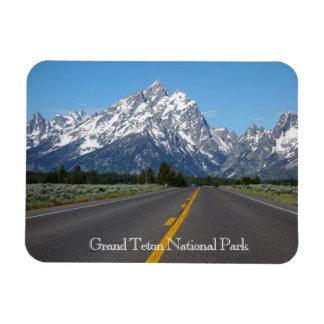 Ímã grande do parque nacional de Teton