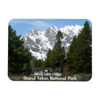 Ímã grande do parque nacional de Teton do lago