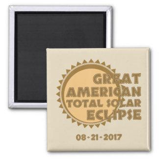 Imã Grande eclipse solar total americano - 2017
