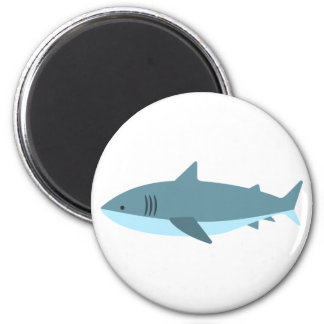 Imã Grande estilo do primitivo do tubarão branco