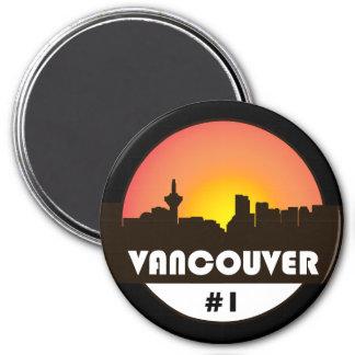 Imã Grande ímã de 3 polegadas com logotipo de Vancôver