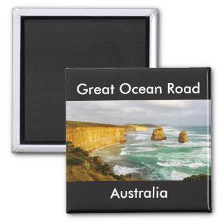 Imã Grande ímã de Austrália da estrada do oceano
