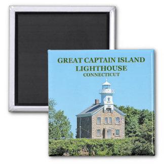 Imã Grande ímã do capitão Ilha Farol Connecticut