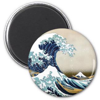 Imã Grande onda de alta qualidade fora de Kanagawa por