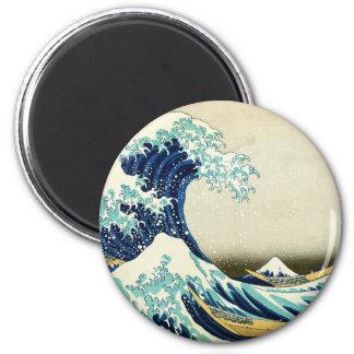 Imã Grande onda fora de Kanagawa