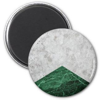 Imã Granito concreto #412 do verde da seta