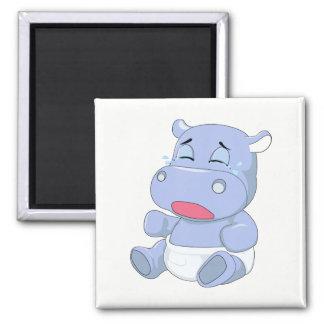 Imã Grito do hipopótamo do bebê