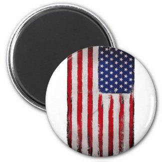 Imã Grunge da bandeira dos EUA