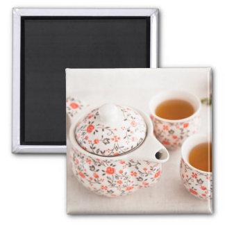 Imã Grupo de chá cerâmico