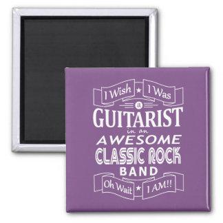 Imã Grupo de rock clássico impressionante do