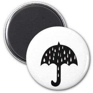 Imã Guarda-chuva e chover