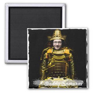 Imã Guerreiro japonês do samurai - introduza SUA foto