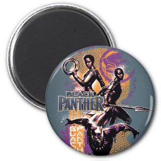 Imã Guerreiros da pantera preta | Wakandan pintados