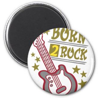 Imã Guitarra nascida da rocha, design do guitarrista