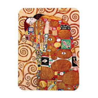 Ímã Gustavo Klimt - o abraço - pintura das belas artes