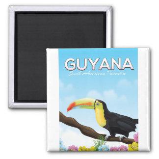 Imã Guyana sul - poster de viagens americano do