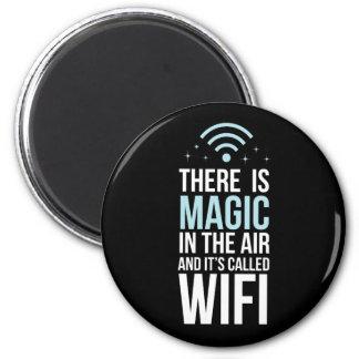 Imã Há mágico no ar chamado Wi-Fi