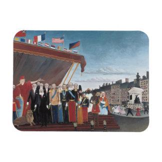 Ímã Henri Rousseau - representantes de estrangeiro