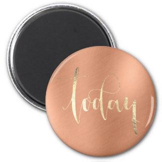 Imã Hoje ouro para fazer o cobre do escritório