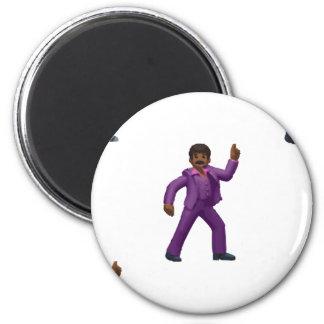 Imã Homem da dança de Emoji