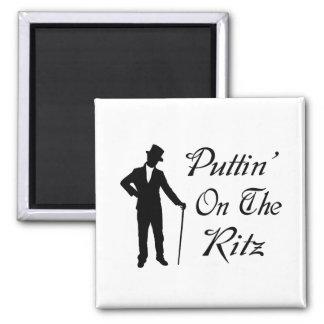 Imã Homem Dapper Puttin no Ritz