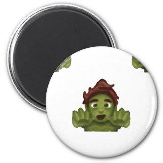 Imã homem do zombi do emoji