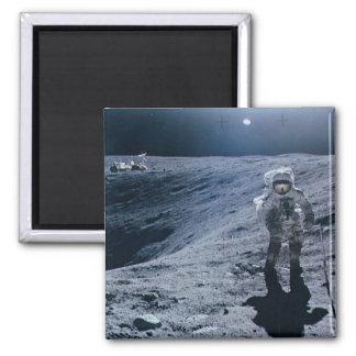 Imã Homem que anda na lua
