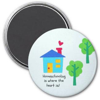 Imã Homeschooling é onde o coração está