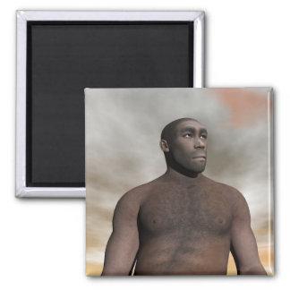 Imã Homo erectus masculino - 3D rendem