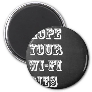 Imã Hope Your Wi-Fi Dies