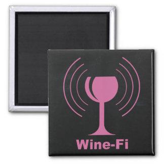 Imã Humor do amante de vinho Vinho-Fi