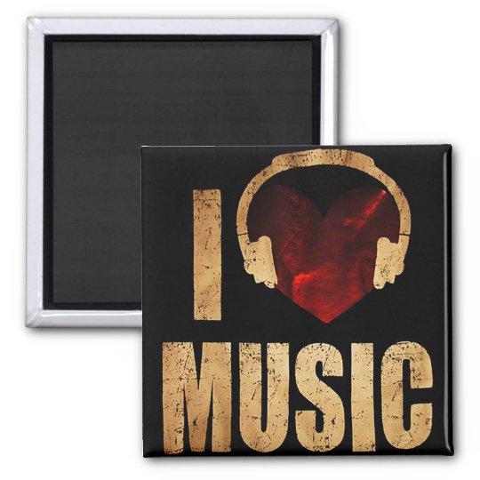 """Imã """"I Love Music"""""""