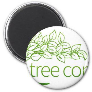 Imã Ícone do conceito da árvore