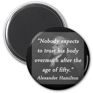 Imã Idade de cinqüênta - Alexander Hamilton