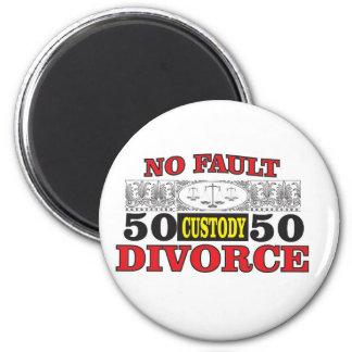 Imã igualdade 50 do divórcio 50 da no-falha