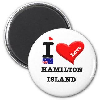 Imã ILHA de HAMILTON - amor de I