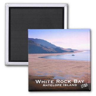 Imã Ilha do antílope, baía branca da rocha, paisagem