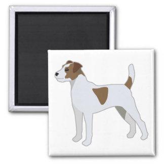 Imã Ilustração da raça do cão de Russell Terrier do