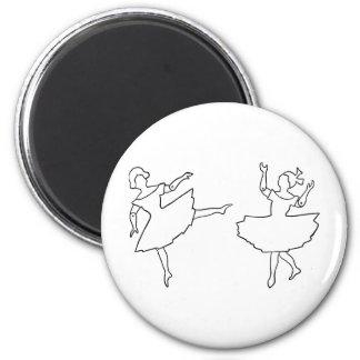 Imã Ilustração do entalhe dos dançarinos