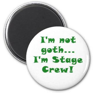 Imã Im não grupo de palco do gótico Im