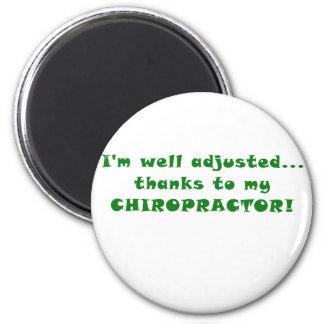 Imã Im obrigados ajustados poço a meu Chiropractor