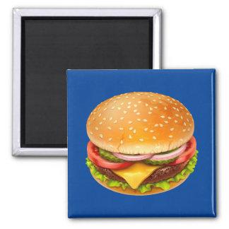 Imã Ímã americano do quadrado do hamburguer