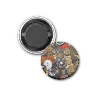 Imã Ímã antigo da colagem do botão (redondo)