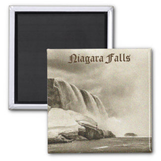 Imã Ímã antigo do Sepia de Niagara Falls