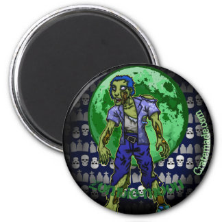 Imã Ímã assustador da lua do zombi