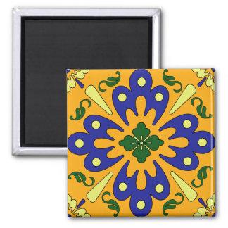 Imã Ímã azul da cozinha do azulejo do espanhol do